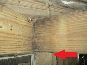 Deck joist missing hanger