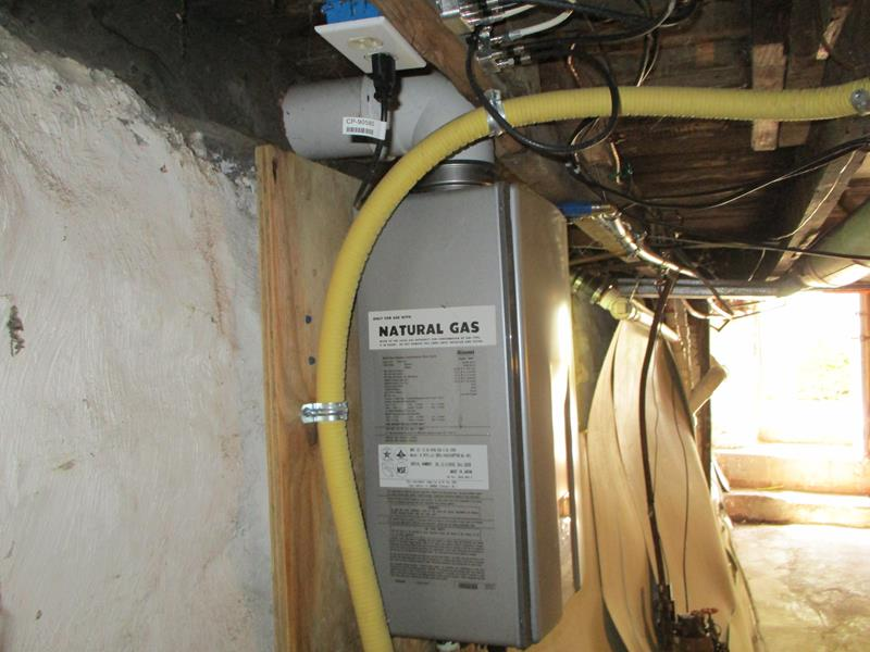 Csst Installed In An Older Home