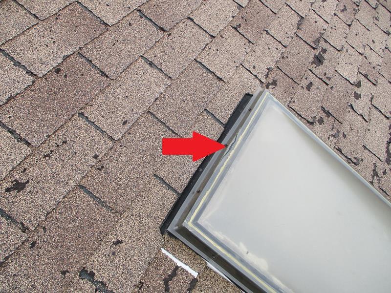 cracked skylight